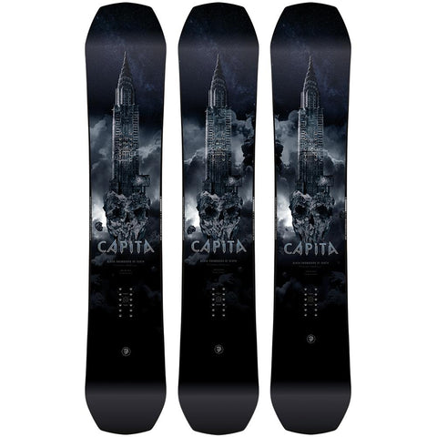 Capita Black Snowboard Of Death 2019 *PRE ORDER