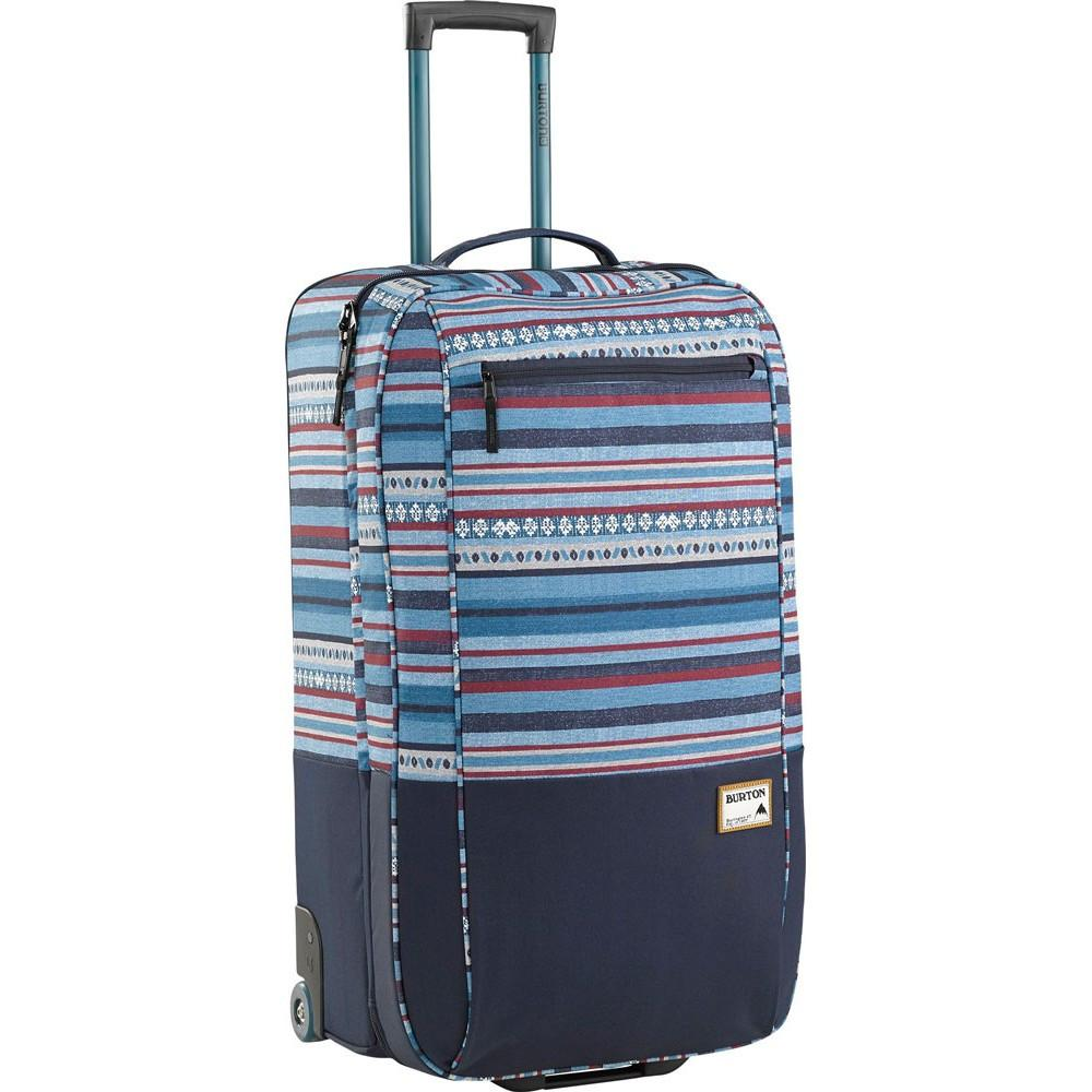 Burton Fleet Roller Cerulean Woven Stripe Travel Bag Australia