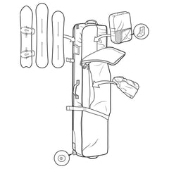 Burton Wheelie Board Case 2019