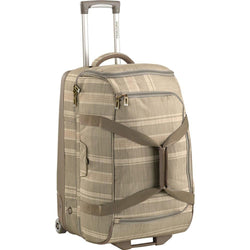 Burton Wheelie Cargo Texture Stripe Travel Bag Australia