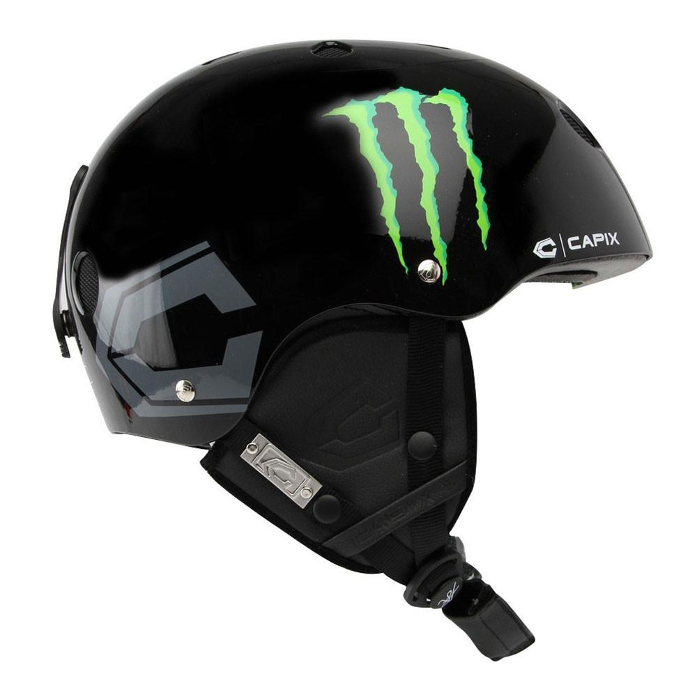 Capix Vito/Monster Helmet Black Gloss 2015
