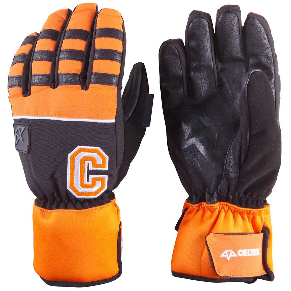 Celtek Ace Orange 2015 Mens Snowboard Glove Australia