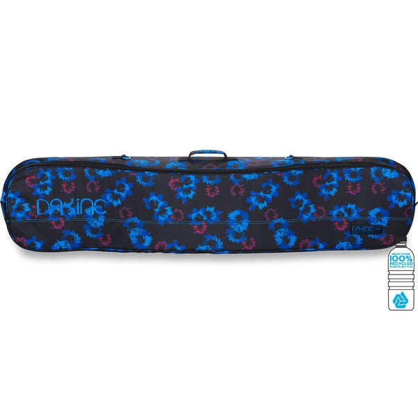Dakine Pipe Bag Blue Flowers Snowboard Travel Luggage Australia