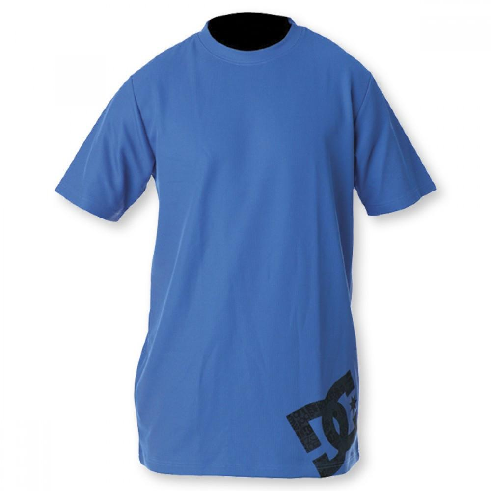 DC Aravis Blue Short Sleeve Thermal Top First Layer Australia