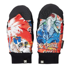 DC Rippin Mitt Tropical 2015 Snowboard Accessories Gloves