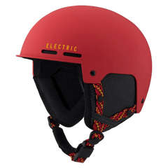 Electric Saint Helmet Matte Red / Yellow 2016 Snowboard Protection Australia