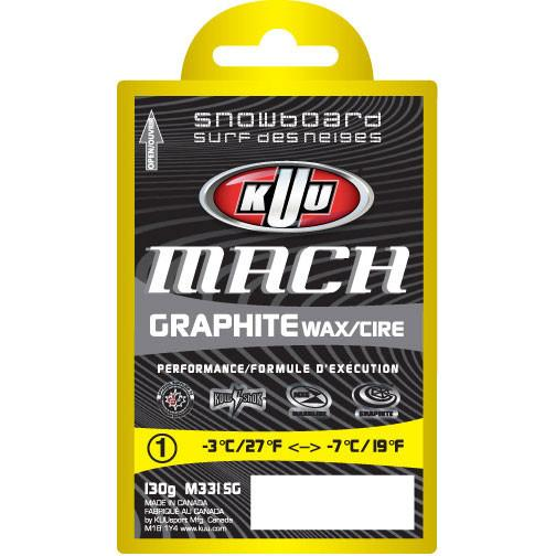 KUU Mach Graphite Moist Wax 130g Waxing Supplies