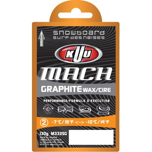 KUU Mach Graphite Universal Wax 130g Waxing Supplies