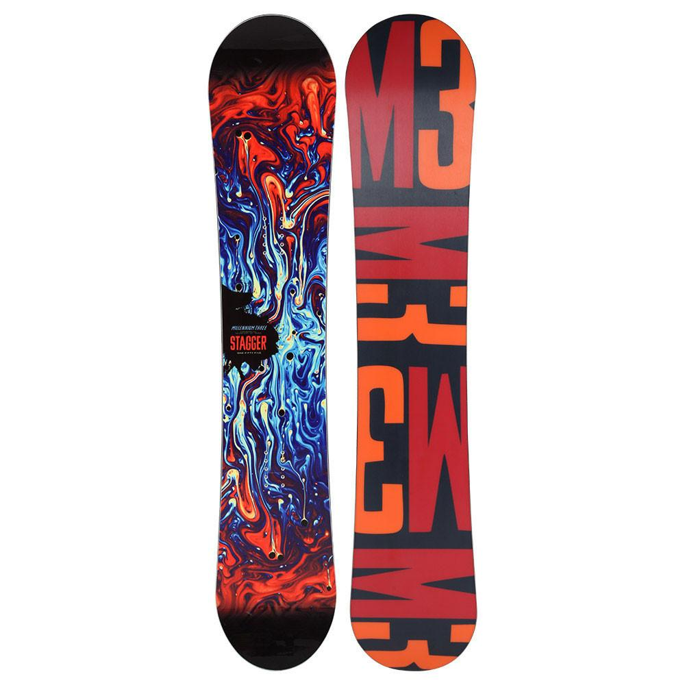 M3 Stagger Snowboard Black 2015