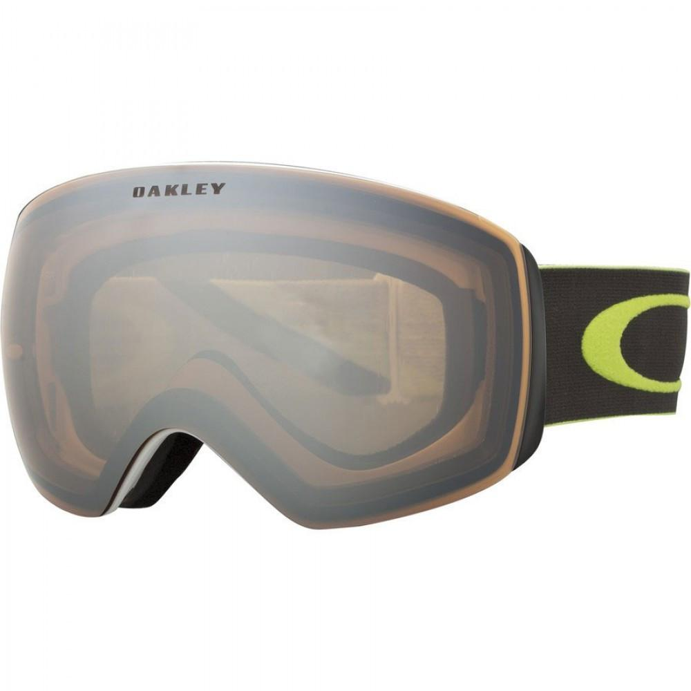 Oakley Flight Deck 1975 Lime Gunmetal 2015 Dark Grey Snowboard Goggles Australia