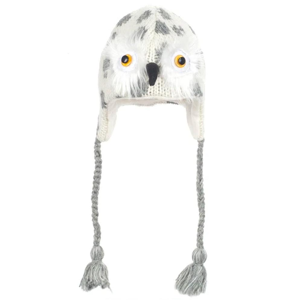 KnitWits Adult Beanie Owl