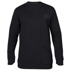 Quiksilver Aligned Crew Caviar 2015 Mens Snowboard Technical Fleece Australia