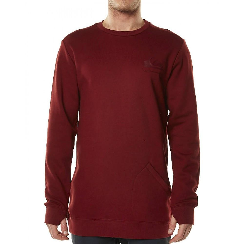 Quiksilver Aligned Crew Syrah 2015 Mens Snowboard Technical Fleece Australia