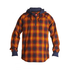 Quiksilver Layover Jacket Syrah Orange Snowboard Technical Fleece Australia