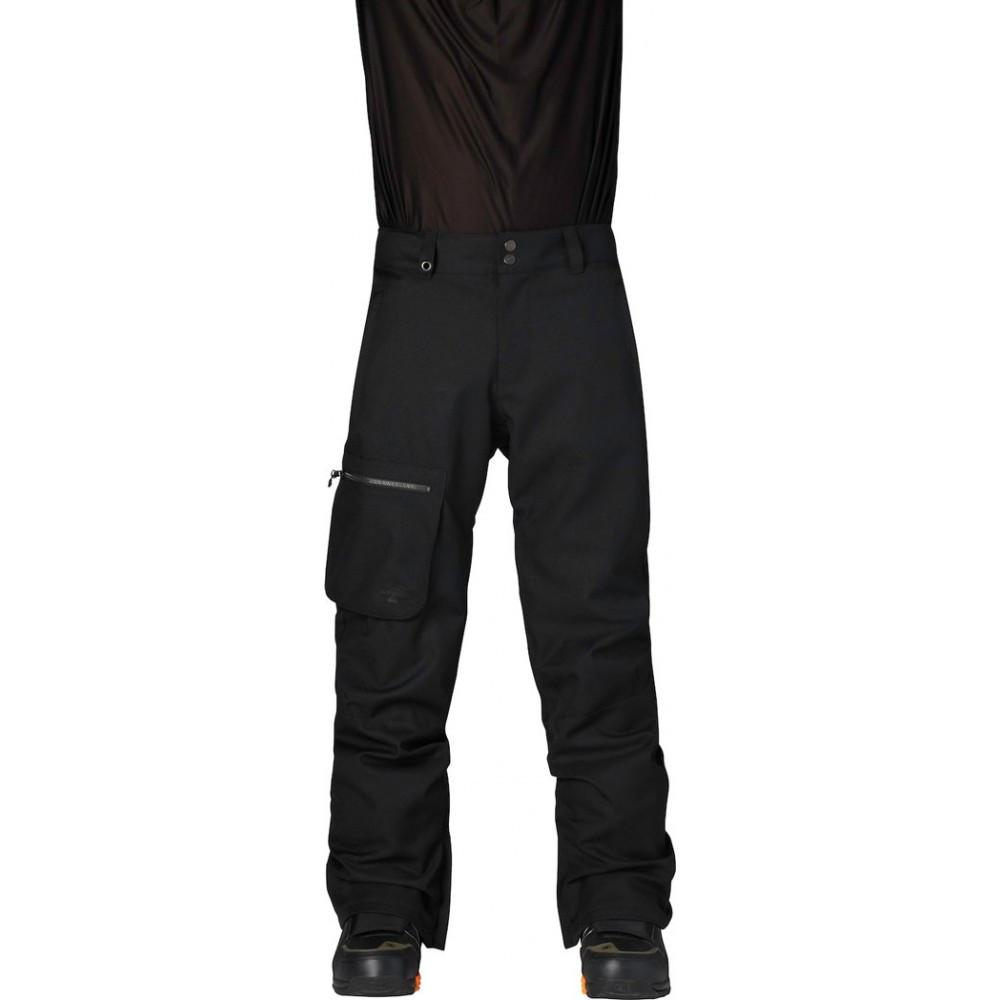Quiksilver Lincoln Pant Caviar 2015 Mens Snowboard Outerwear Australia