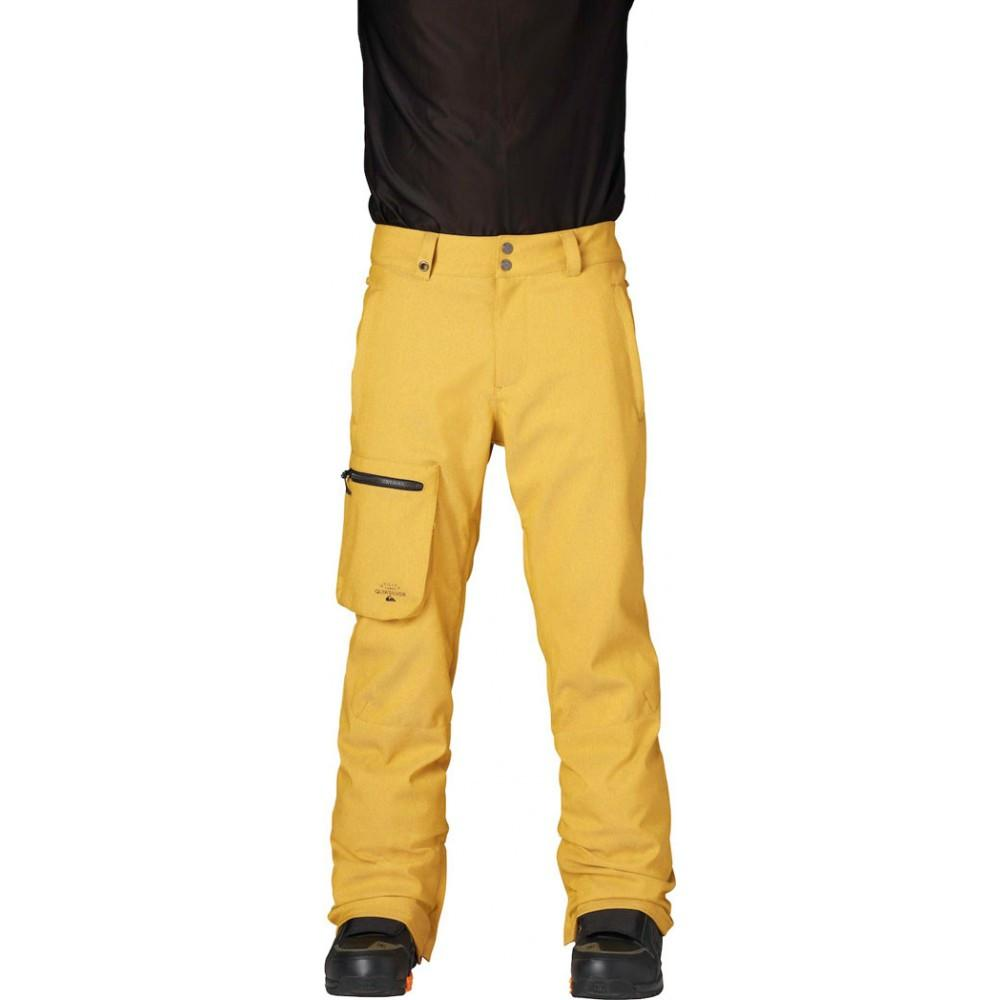 Quiksilver Lincoln Pant Mustard Gold 2015 Mens Snowboard Outerwear Australia