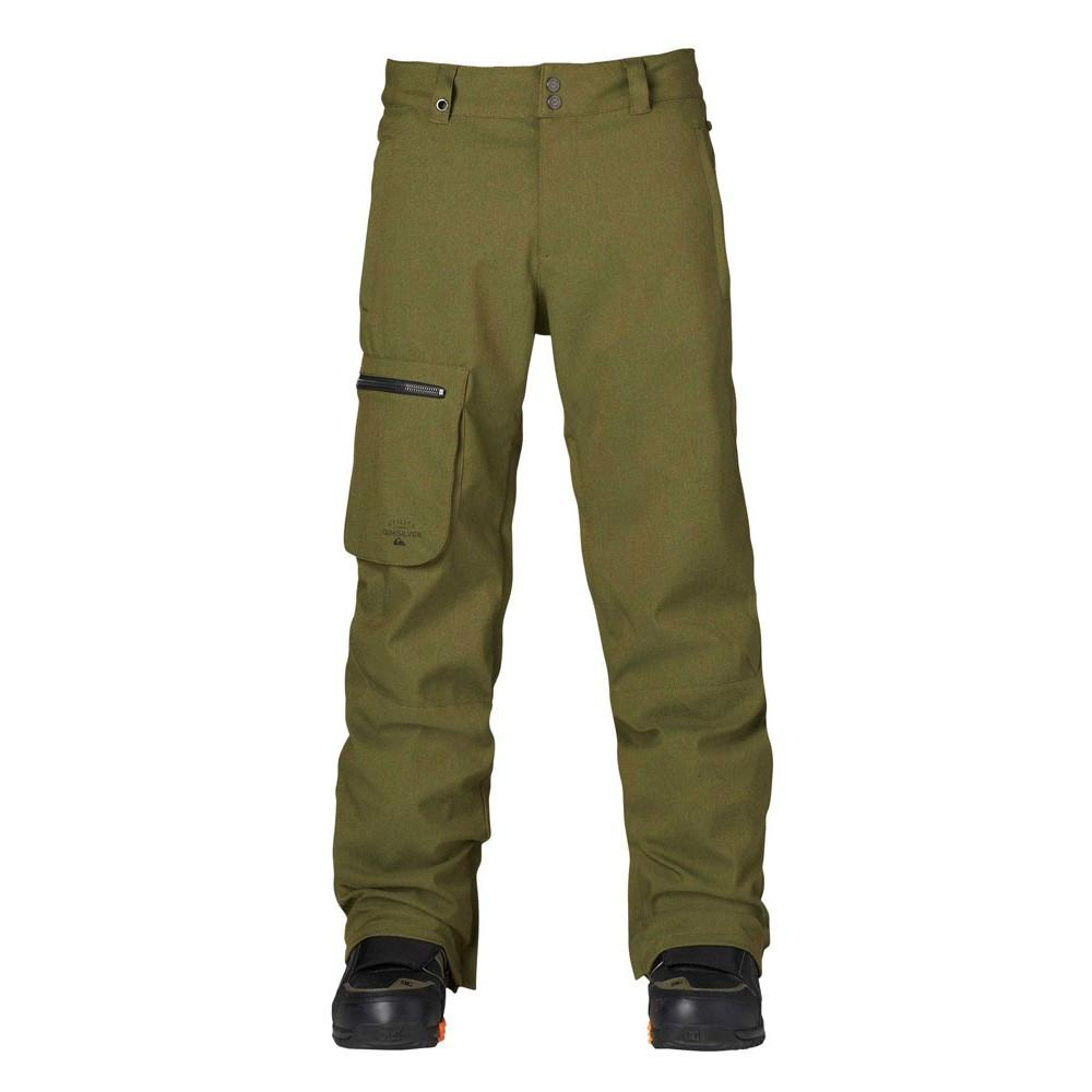 Quiksilver Lincoln Pant Winter Moss 2015 Mens Snowboard Outerwear Australia
