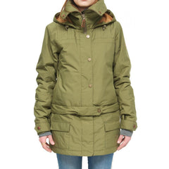 Roxy Delorean Jacket Burnt Olive 2015 Womens Snowboard Outerwear Australia