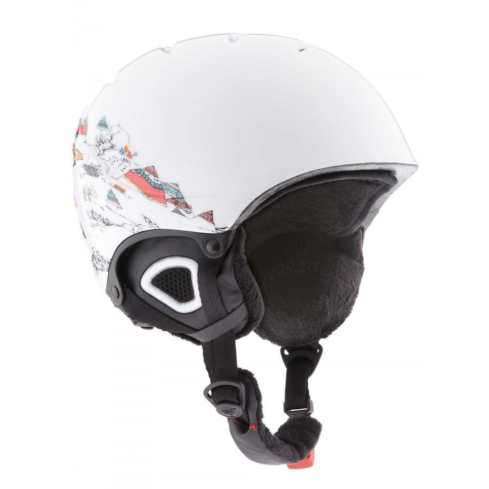 Roxy Misty Girls Helmet Bright White 2015 Kids Snowboard Helmet Australia