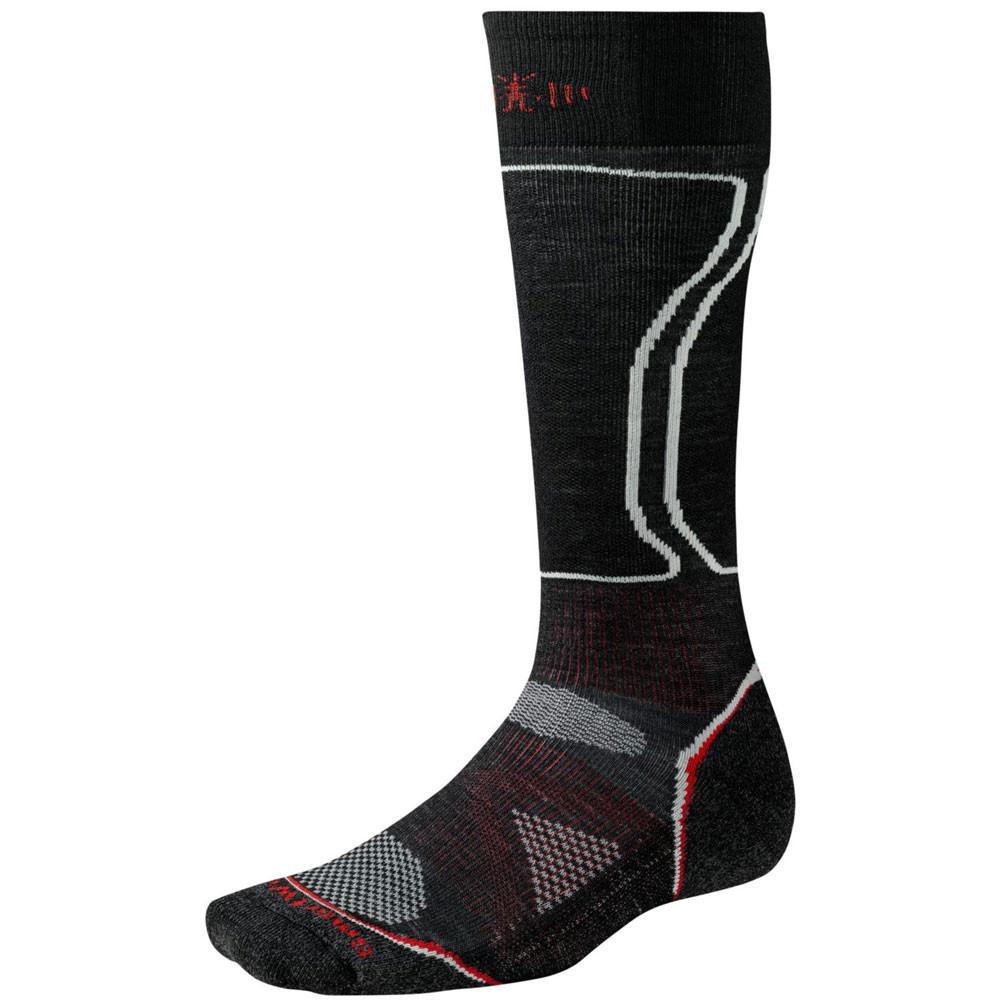 Smartwool PHD Light Black Red 2014 Mens Snowboard Sock Australia