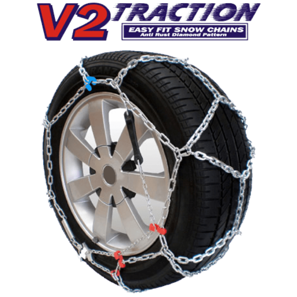 V2 Traction 2WD Easy Fit Car Snow Chains Australia