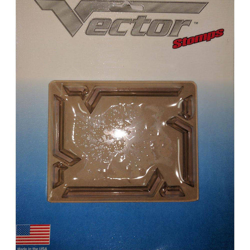 Vector Square Edges Stomp Pad