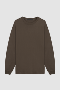 ARTIST LONG SLEEVE / ASH BROWN
