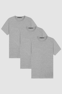 BEN'S SHIRT 3-PACK / TRI-BLEND GREY
