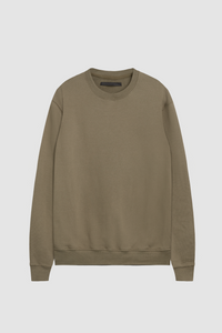 CREW NECK SWEATSHIRT / FATIGUE