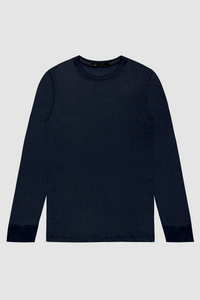 LONG SLEEVE CREW / NAVY