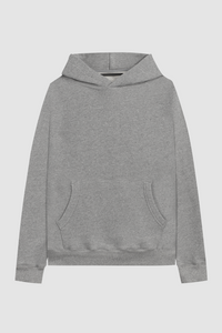 PULL OVER HOODIE / HEATHER GREY