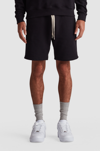 SWEATSHORTS / BLACK