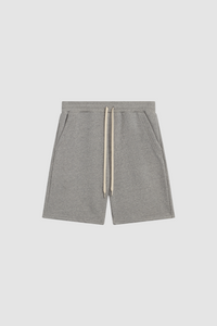 SWEATSHORTS / HEATHER GREY