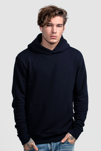 PULL OVER HOODIE / NAVY