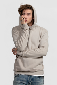 PULL OVER HOODIE / SAND