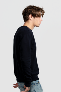 CREW NECK SWEATSHIRT / NAVY