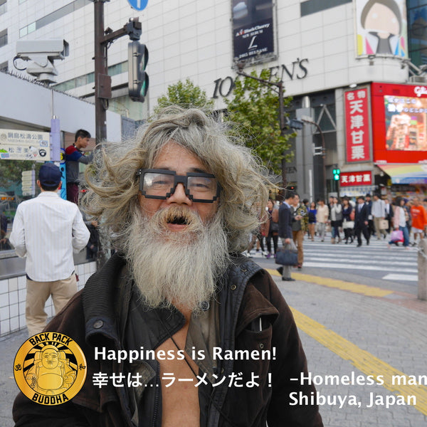 Happiness In Shibuya, Japan