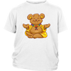 White Buddha Bear Kid's T- Shirt