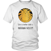 Better With A Buddha Belly Unisex T-Shirt