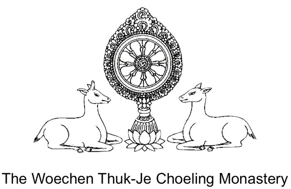 The Woechen Thuk-Je Choeling Monastery Logo