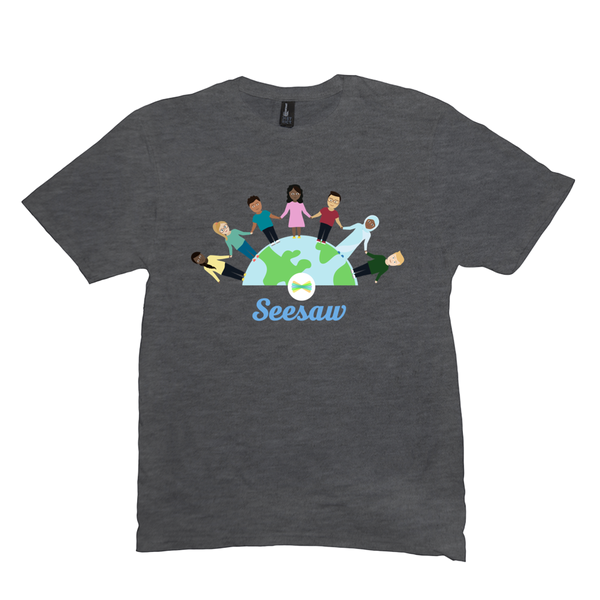 Seesaw Activity Library Contributing Author T-Shirt