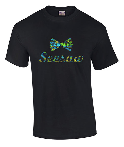 Seesaw Word Cloud Shirt