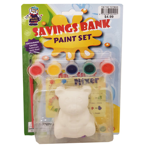18APR01R - Tim The Toyman Paint Your Own Savings Bank