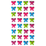 3DF-BFLIES-R - Tim The Toyman 3D Butterfly Stickers