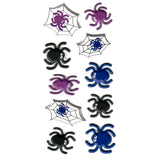 3DF-WEBS-R - Tim The Toyman 3D Spider Stickers