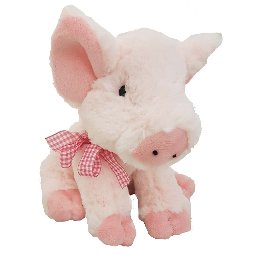 GNT11-R - 20cm Pig with Ribbon