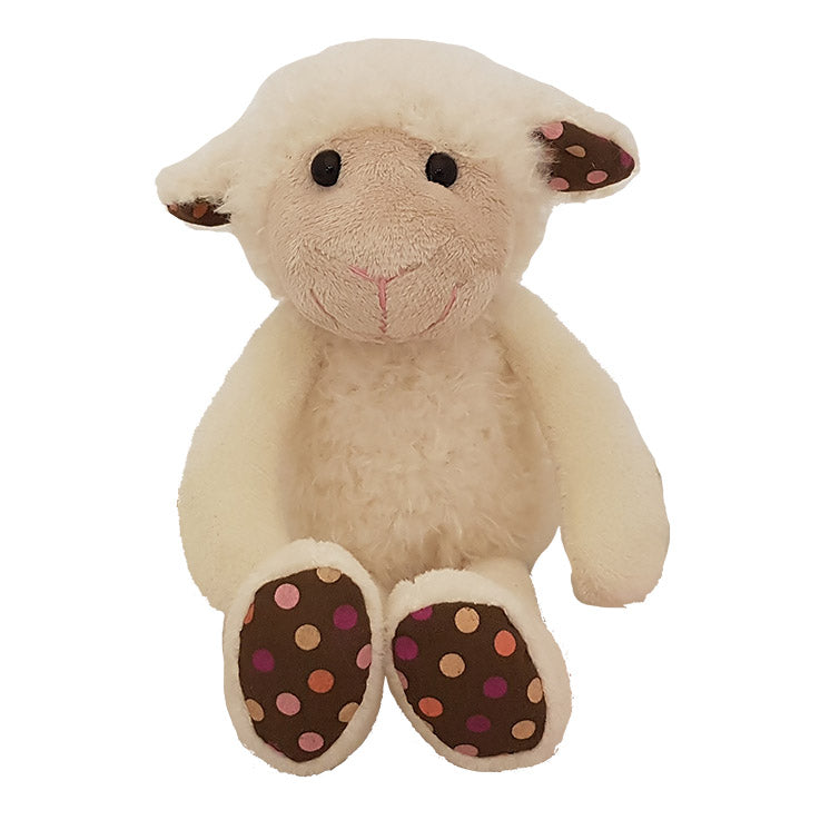 GNT16-R - 15cm White Sitting Sheep