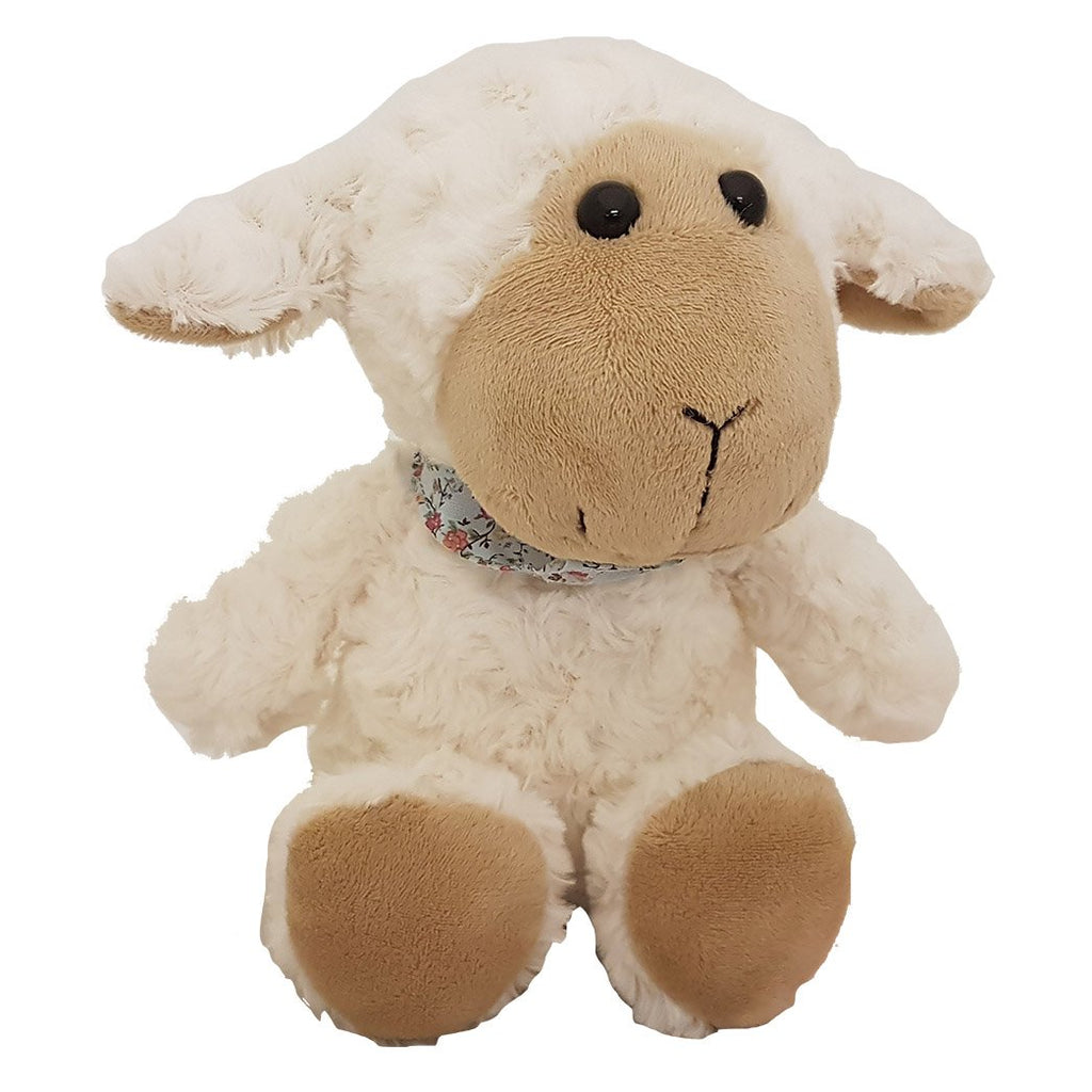 GNT22-R - 21cm Funny Sheep with Scarf
