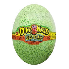 JA816R - Light Up Dino Egg with Putty