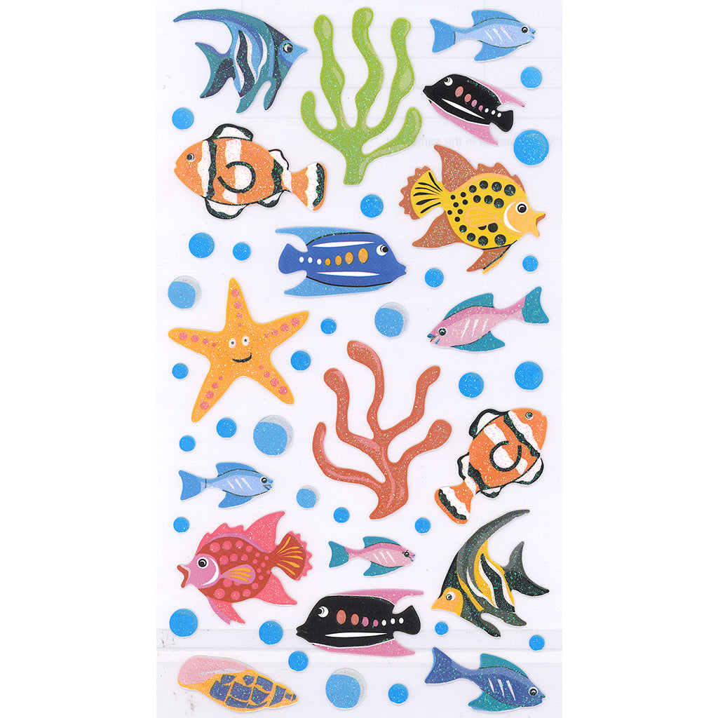 LKFISH-R - Tim The Toyman Fish Stickers